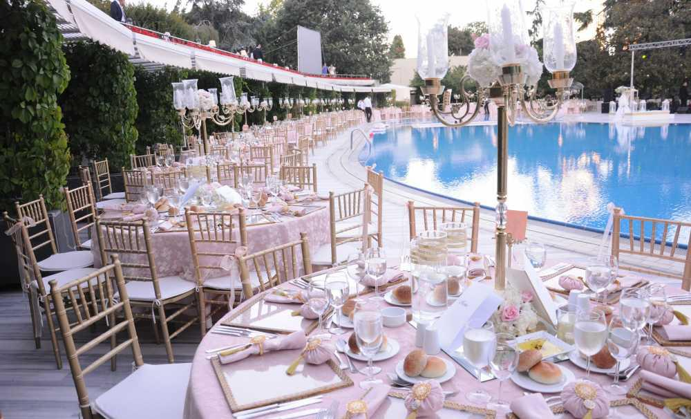 Wedding Ceremony in Hilton Hotel Bosphorus Istanbul: