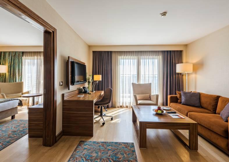 Corner-Suite-Holiday-Inn-Sisli Istanbul
