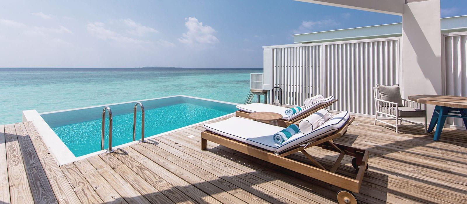 Lagoon Water Pool Villa - Amilla Resort